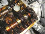 Не очень чистый двигатель