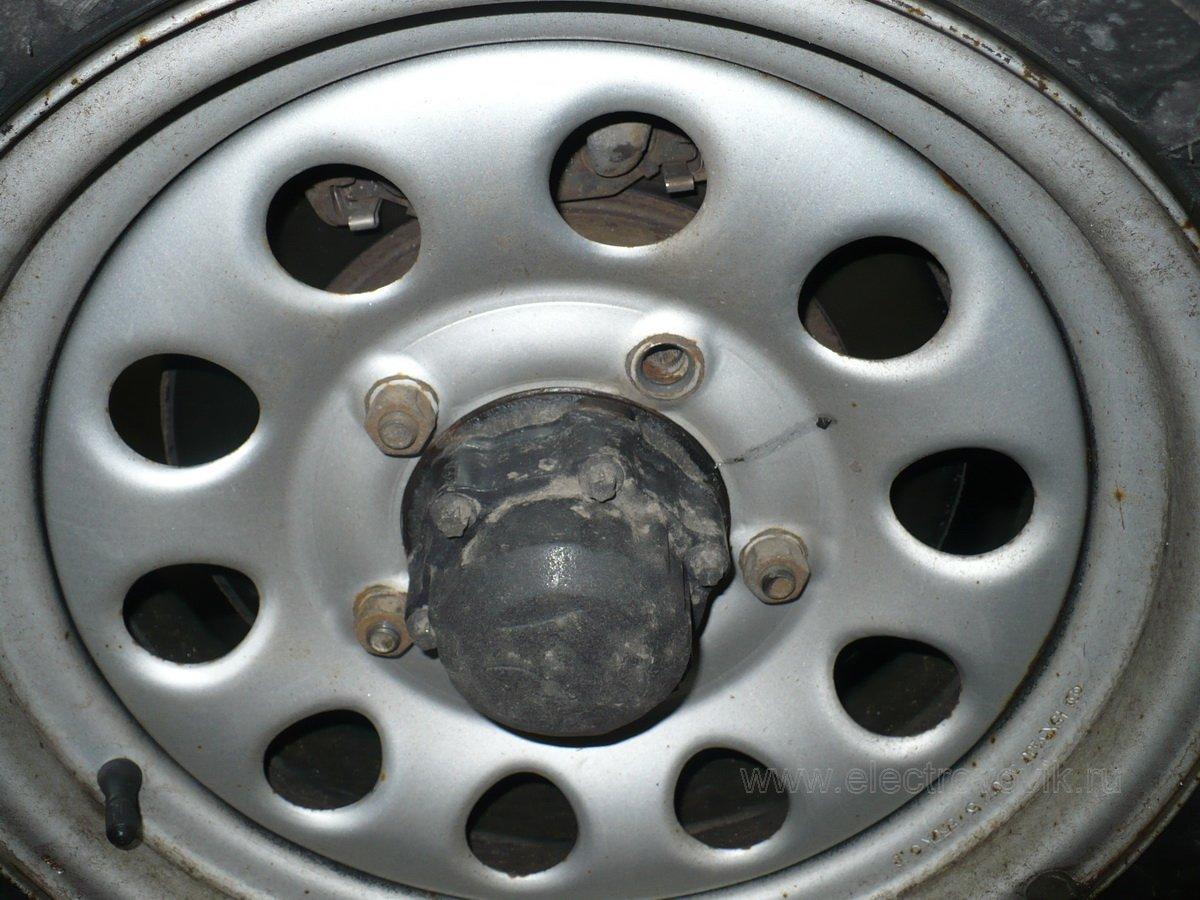 Сломалась шпилька колеса на форд фокус 1 4 фотография