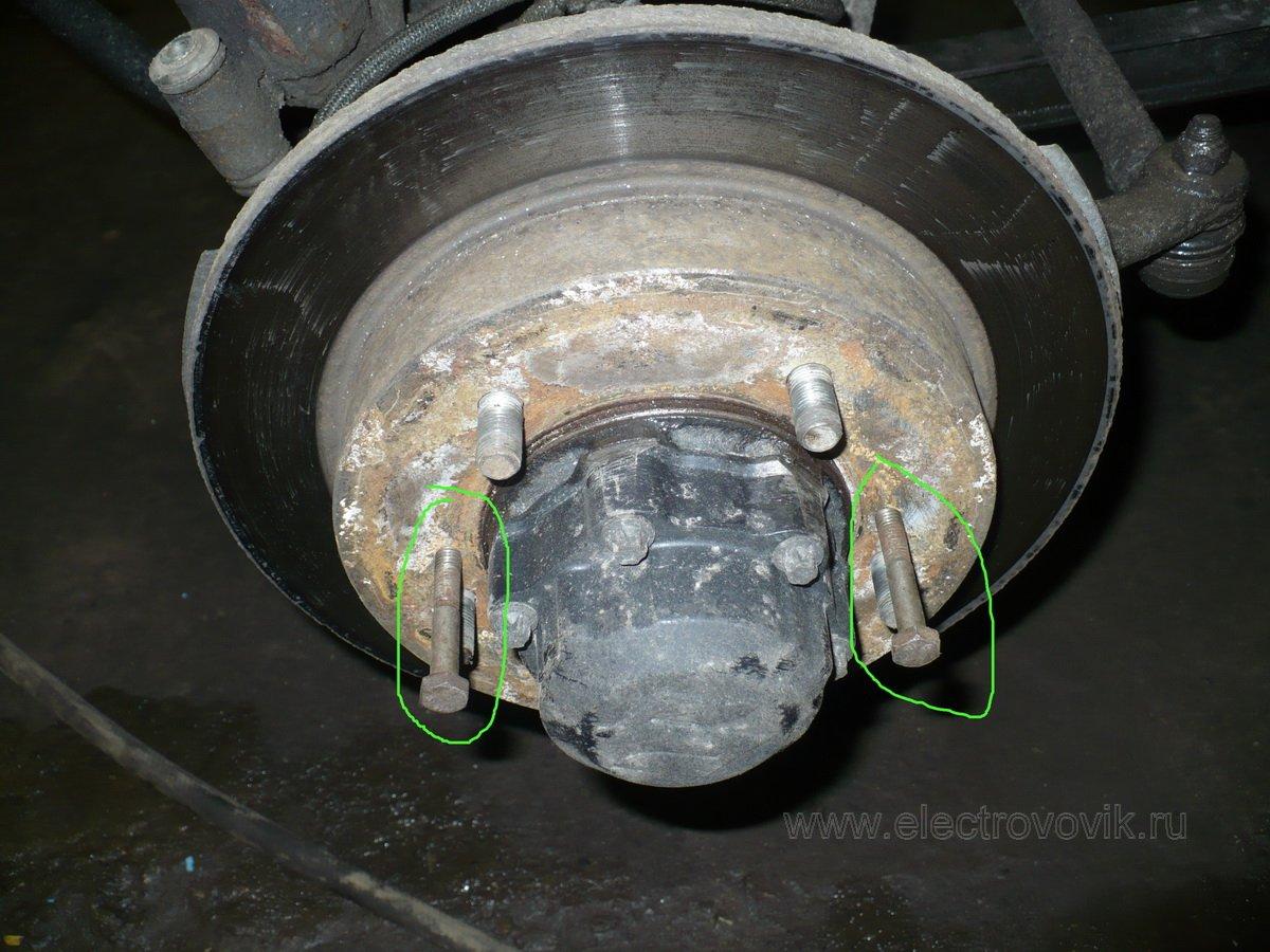 Сломалась шпилька колеса на форд фокус 1 17 фотография