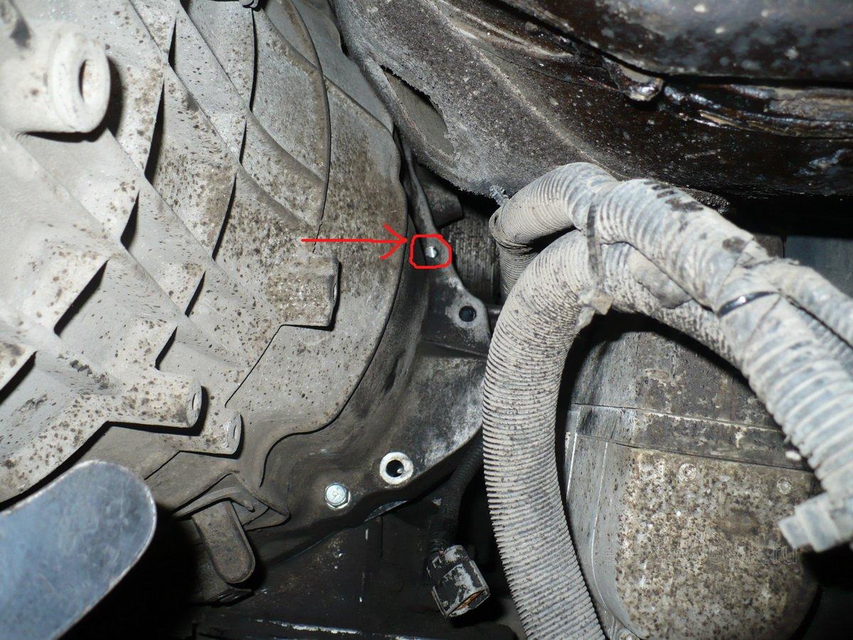 Самостоятельная замена сцепления Nissan Almera N16 73